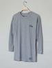 MEDIUM THE BRAND × BLUCO RAGLAN SLEEVE THERMAL-SHIRT / ASH GREY