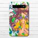 #056-005 モバイルバッテリー 綺麗 おしゃれ かわいい iphone スマホ 充電器 タイトル:緑舞い散る 作:ミナミ
