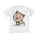 <白Tシャツ 両面>無言みーちゃん