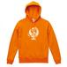 地球儀パーカー【オレンジ】
