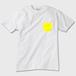 ぽっけとしっぽ かわいいおしゃれTシャツ ぽっけ黄色 ※トナー熱転写印刷