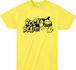 ROCK BEAT Tシャツ【YELLOW】※残りわずか!