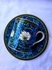 William Morris(ウィリアム・モリス)ロンドンV&A美術館収蔵 カップ&ソーサー PIMPERNEL