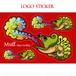 LOGO STICKER / ロゴステッカー