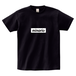 minario / BOX LOGO T-SHIRT BLACK x WHITE