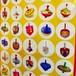 セビボン(ハヌカのコマ)シール 65枚☆65 Hanukkah Dreidels stickers