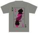 トランプTシャツ/グレー
