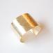 Brass texture bangle L