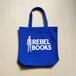 REBEL BOOKSトートバッグ - Blue