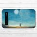 #068-007 モバイルバッテリー 宇宙 おしゃれ かわいい 月 ファンタジー iphone スマホ 充電器 タイトル:宙色の帰り道 作:アスマル