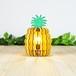 「パイナップル」木製フロアランプ