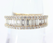 【SOLD OUT】0.80ⅽt パヴェダイヤモンド ハーフエタニティリング K18 ~0.80ⅽt Pave Diamond Half Eternity Ring K18~