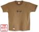 Zigzag T-shirts / ダークキャメル