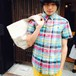 Men's Ralph Lauren マドラスチェックボタンダウンシャツ