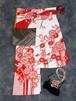 【振袖】<レンタル> 赤×白 絞り