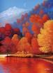 ジョン・ラッテンベリー作「秋の岸辺に佇む静けさ」ジクレ