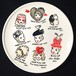 """Vintage Hat Collection"" plate (予約商品)"