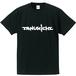 Tanukichi T-Shirt (black) with Tanukichi logo sticker