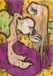 ラーテルさん(あなぐまハチロー)「ムラサキの滝」