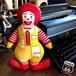 【送料込】1984's マクドナルド ロナルド ドナルド ぬいぐるみ キャラクター人形 McDonalds ピロー ドール クロスドール  アメリカヴィンテージ 80s Vintage 【H-084c-005】