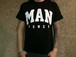 MANPOWER Official T-shirts 1 / BLACK