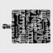 (通販限定)【送料無料】Lサイズ-手帳型スマホケース ランダム_ブラック