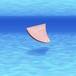 レザー フィン コインケース/サーフィンのサーフボード・フィン型小銭入れ