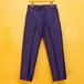 40's LE MONT ST MICHEL BLUE MOLESKIN PANTS DEAD STOCK