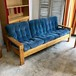 Vintage Corduroy 3 Person Sofa オランダ 1970's