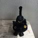 黒猫ぬいぐるみ(足裏ハート付き)