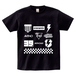 avenomix / MULTI ICON T-SHIRT BLACK