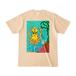 【グッズ】送料込「だべイカ」Tシャツ [色:ナチュラル]