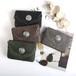 B-Z-19-07-01 財布 コイン財布  カードホルダー コンチョ付き財布 女性 ショートスタイル Puレザー
