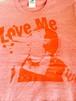 『Love Me』 Tシャツ レッド×レッド【枚数限定】
