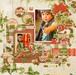 【キット】「12インチ+見開き」定番カラーとヴィンテージ感が心地いいクリスマスレイアウト