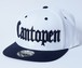 2018 Cantopen Snap Back Cap Black/White x Black