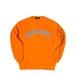 COLLEGE LOGO CREW SWEAT M381104- ORANGE / クルー スウェット シャツ MARATHON JACKSON マラソン ジャクソン