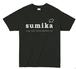 sumika/ロゴTシャツ(ブラック)