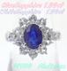 【SOLD OUT】ブルー/ホワイトサファイアリング 1.00ct/1.00ct プラチナ ~【Good Condition】Blue / White Sapphire Ring 1.00ct / 1.00ct Platinum~