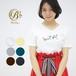 【春夏】半袖VシンプルロゴTシャツ【レディース】【BM920102】