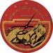 【楽園追放】缶バッジ型ウォールクロック