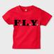 F.L.Y. Kids T-Shirt (RED×BLK)