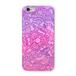 ネコタングル pink スマホケース(ハードケース全面プリント)