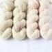 引き揃えセットC (Baby alpaca Lace+Bluefaced Lace)