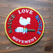 MOVEMENT WOODSTOCK Homage Patch