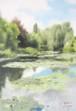 モネの庭Ⅱ【複製画】