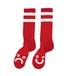 POLAR SKATE CO.  Happy Sad Socks  red 39/42