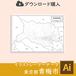 青梅市の白地図データ