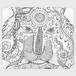 手帳型(帯なし)サイズ(L):kazue.M_005(視線)