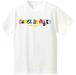 RANDOM POP Tシャツ【ホワイト×カラフル】